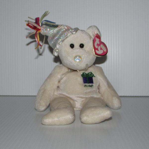 ff3b5f8fa76 Ty Beanie Baby-Happy Birthday June With Hat – Baskets
