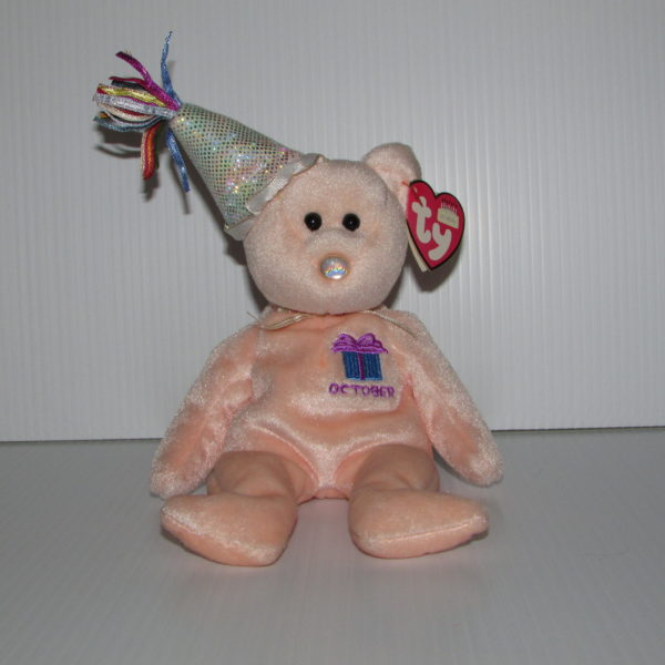 08a94fbdd73 Ty Beanie Baby-Happy Birthday October With Hat – Baskets