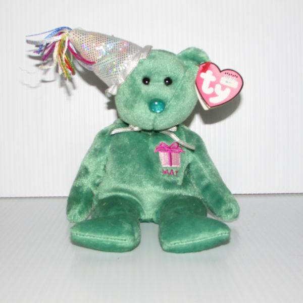 0b7db9f2773 Ty Beanie Baby Happy Birthday May With Hat – Baskets